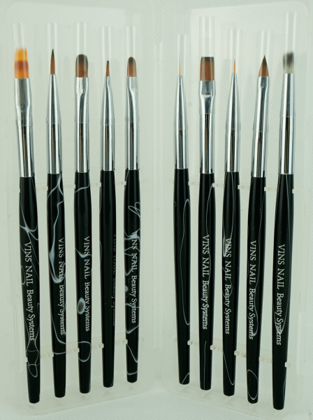 gel & nailart brush set
