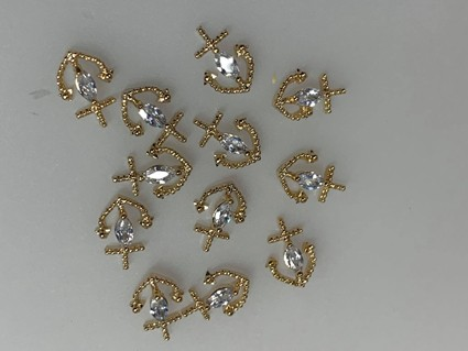 Rhinestone - jewelry - overlays