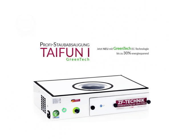 Professionele stofzuiger Taifun 1 GreenTech