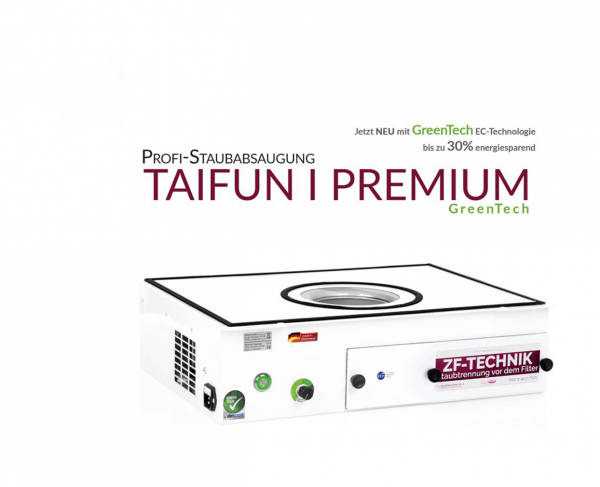 Profesionální vysavač prachu Taifun 1 Premium GreenTech