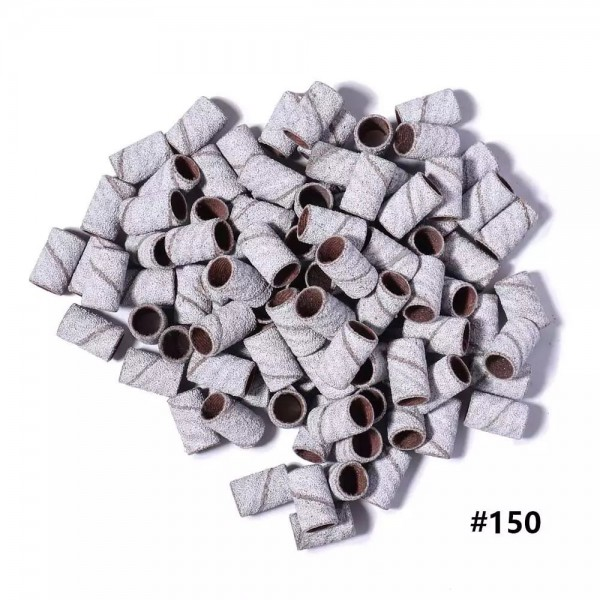 Capuchons abrasifs, zèbre rugueux, grain 150