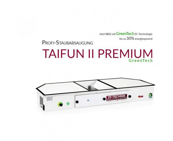 Profesionální systém odsávání prachu Taifun 2 Premium GreenTech